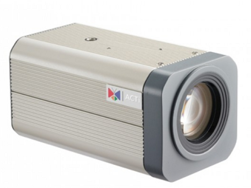 IP Cameras : ACTi IP Cam KCM-5211 Indr Box 4MP Z