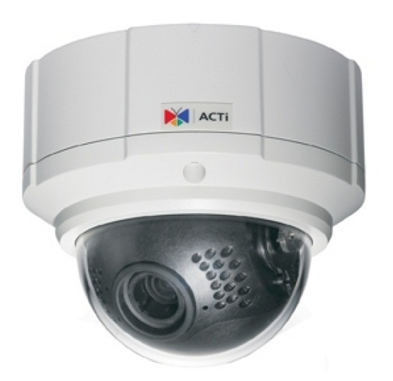 IP Cameras : ACTi IP Cam TCM-7811 Outdoor Dome