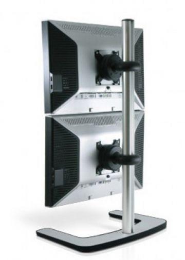 Visidec Freestanding Vertical Double LCD